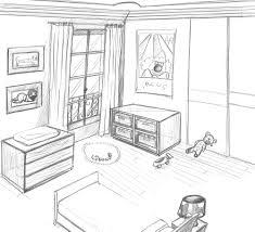 comment dessiner un canapé en perspective awesome chambre en perspective facile photos matkin info