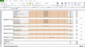 free contractor estimate template excel excel tmp