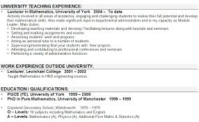 Sample Faculty Resume by 28 Sample Lecturer Resume Lecturer Resume Sales Lecture Lewesmr