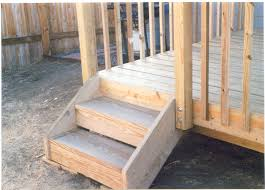 2 Step Stair Stringer by Pictures Of Deck Steps Deck Design And Ideas