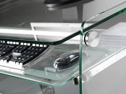 Breiter Schreibtisch Schreibtisch Für Computer Aus Glas