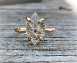 crystal diamond rings images 45 best herkimer diamond rings images herkimer jpg