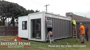 instant home solutions angeli folding house youtube
