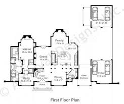 Daylight Basement House Plans by Bowen French Country House Plan Luxury House Plan