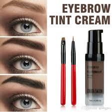 henna eye makeup color salon eyebrow pomade 7ml makeup tint brush kit brown henna
