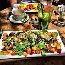cuisine babette babette s salad at brunch picture of babette s newport