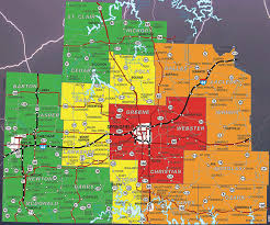 map of areas and surrounding areas alert map for springfield mo and surrounding areas