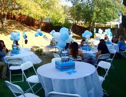 Baby Blue And Brown Baby Shower Decorations Teddy Bear Baby Shower Decorations Ideas Teddy Bear Party Ideas
