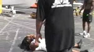 kimbo slice u0027s first fight against big d video dailymotion