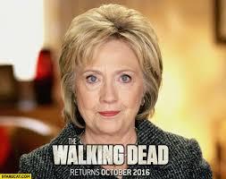 Dead Meme - hillary clinton the walking dead meme starecat com