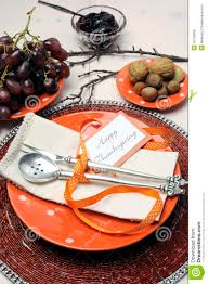 Casual Table Setting Happy Thanksgiving Lunch Brunch Or Casual Modern Dining Shabby