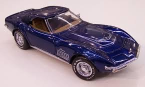 1972 corvette stingray price 1972 corvette lt 1 stingray in 1 24 by franklin mint diecast model