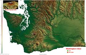 Map Of Sequim Wa Precipitation Map Of The Lower 48 United States 959x720 Mapporn