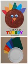 paint chip turkey kid craft the resourceful mama