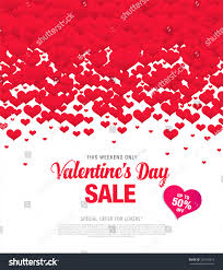 valentines sale valentines day sale stock vector 365142218