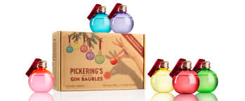 pickerings gin baubles are back this is edinburgh