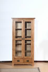 oak bookshelves with doors image of oak bookcase with glass doors