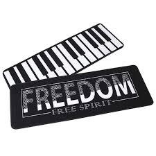 aliexpress com buy black and white carpet piano runner