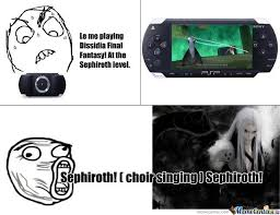 Sephiroth Meme - am i the only one singing the sephiroth song by jamish03 meme