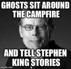 Stephen King Meme - pin by wikked on stephen king pinterest horror books and movie