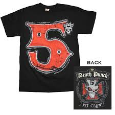 Blind Guardian Shirts Five Finger Death Punch Shirts U0026 T Shirts Merchbar