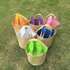 wholesale easter buckets 2018 bunny ear easter buckets wholesale blanks jute tote with