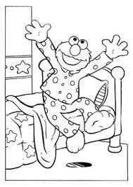 elmo baseball catcher elmo coloring pages