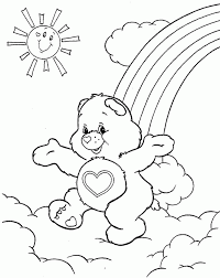 care bears coloring pages free coloring