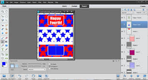using photoshop elements to design party printables part 3