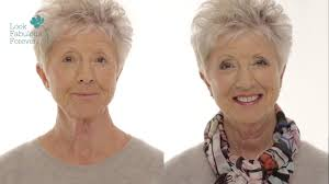 short hairstyles for women over 60 with glasses makeup for older women define your eyes and lips over 60 youtube