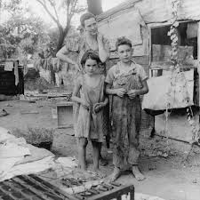 the great depression photo a great depression family
