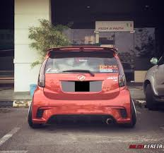 subaru justy stance orange myvi stance share my ride gk033 galeri kereta