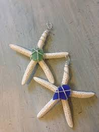 studded starfish ornament or home decor by erin strother featuring