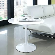 Saarinen Coffee Table Saarinen Coffee Table Overview White Laminate Thewkndedit