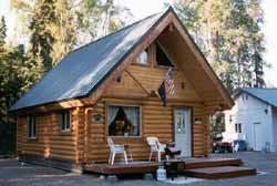 16x24 owner built cabin alaskan made superior log siding