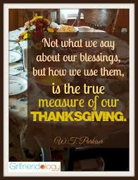 celebrating thanksgiving in two words great advice