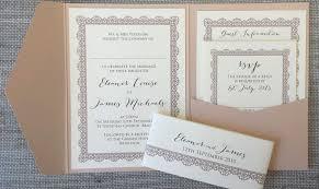 Wedding Pocket Invitations Handmade Wedding Invitations U2013 Gangcraft Net