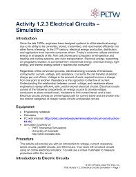 activity 1 2 3 electrical circuits u2013 simulation introduction