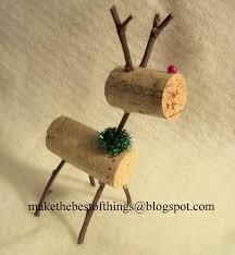 make the best of things teeny tiny wine cork reindeer