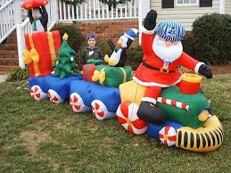 Blow Up Christmas Decorations Outdoor by Inflatable Christmas Decorations