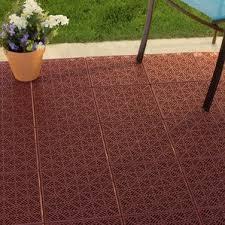 Wood Patio Flooring by Deck Tiles