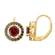 garnet earrings garnet earrings for jewelry watches jcpenney
