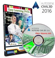 autocad civil 3d 2016 video cad video tutor cad video tutorial
