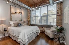 bedroom dazzling awesome industrial loft ideas attractive