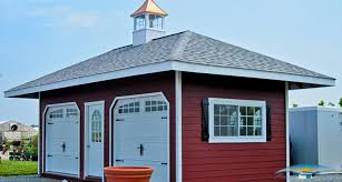 shed style architecture hip roof shed hip roof garage horizon structures