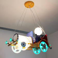 girls room light fixture cartoon classic cars children s bedroom pendent light kid s study