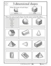 shapes worksheets worksheets geo shapes pinterest shapes