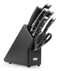 wusthof classic ikon 9878 8 piece knife block set