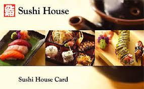 restaurant gift card gift cards sushi house restaurant