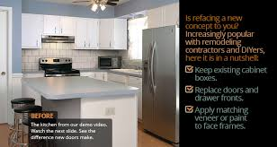 kitchen reface completely change your kitchen just pick a weekend